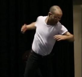 Dinis Machado performs BARCO Dance Collection