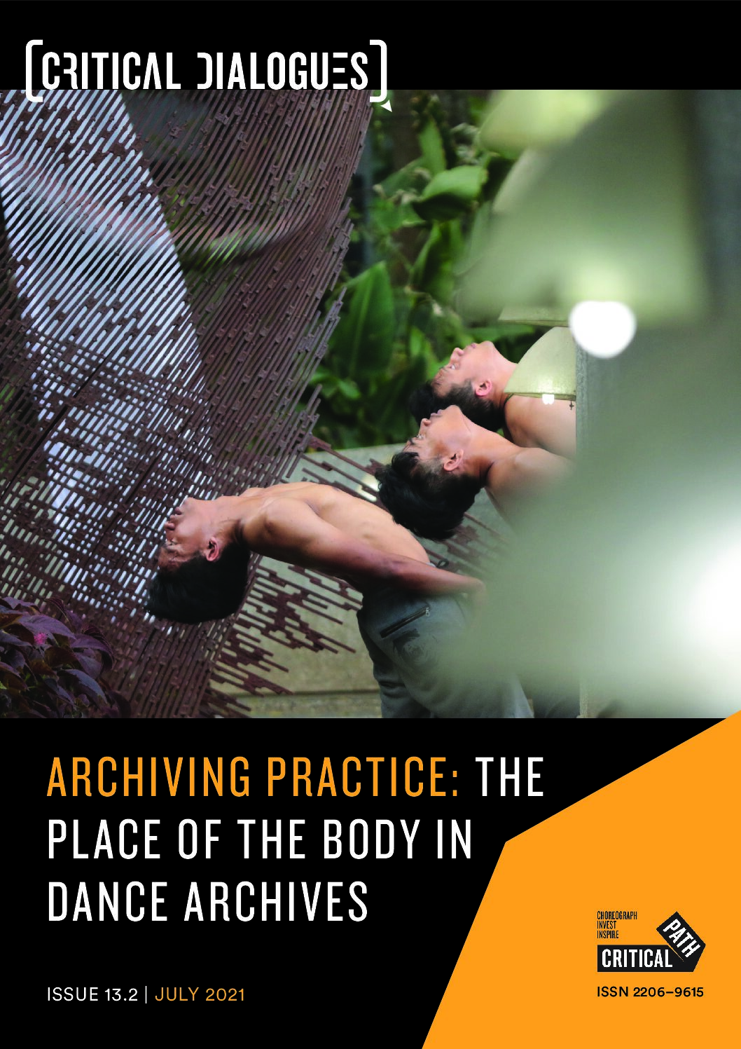 Issue 13.2 | Archiving Practice: The Place of the Body in Dance Archives | July 2021