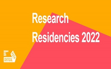 CALLING FOR APPLICATIONS FOR 2022 RESEARCH RESIDENCIES